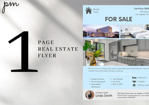 Realtor Kit-Modern Templates, Email Signature, MLS Listing Banner, Real Estate Flyer, Facebook Cover, Home Buyer & Seller Questionnaire