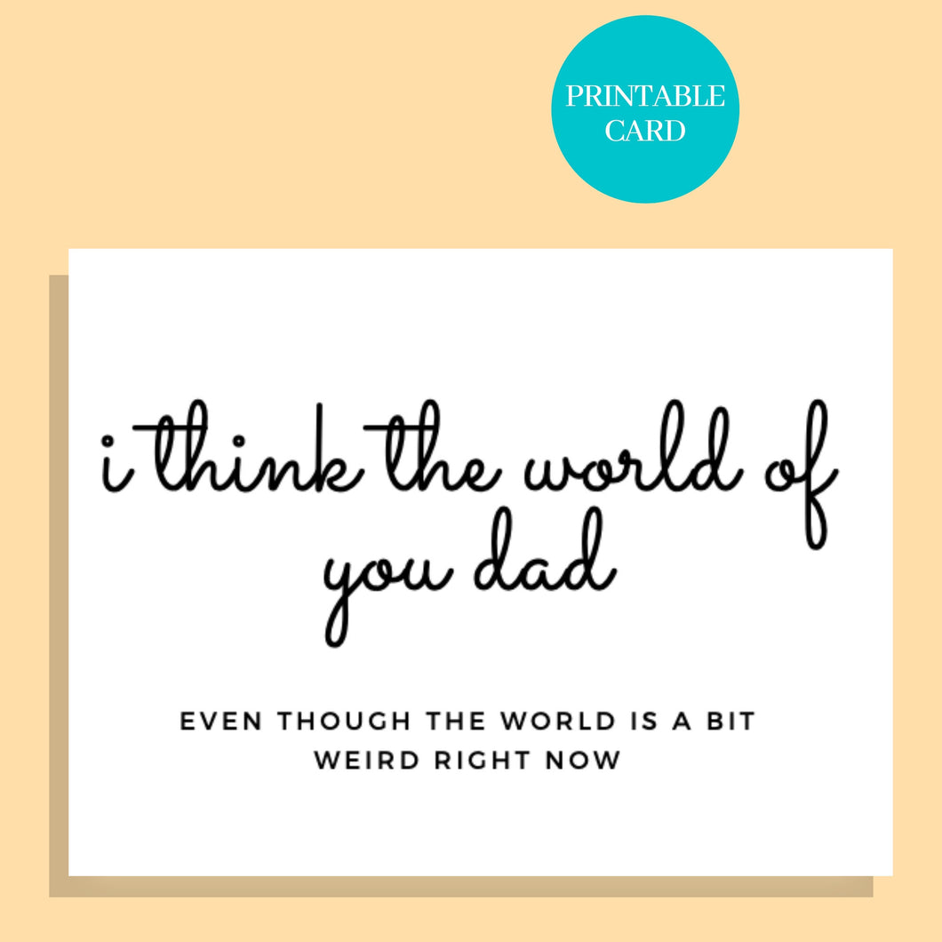 Fathers Day Card | Printable Card | Fathers Day Card | Fathers Day Card | Funny fathers day card | Fathers Day Gift | Humor Card