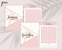 Load image into Gallery viewer, Social Media Printable Planner 2021 - Instagram, Facebook, Twitter, Pinterest Content Planner, Influencer, Blogger Social Media Planner
