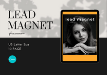 Load image into Gallery viewer, Lead Magnet Templates - Marketing for Bloggers, Opt-in Freebie Template, Bloggers Workbook , Lead Magnet eBook, Course Workbook Template