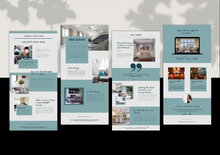 Load image into Gallery viewer, Real Estate Email Newsletter Templates - Realtor Email Marketing, Newsletter Template, Mailchimp Newsletter, Canva Templates, Email Template