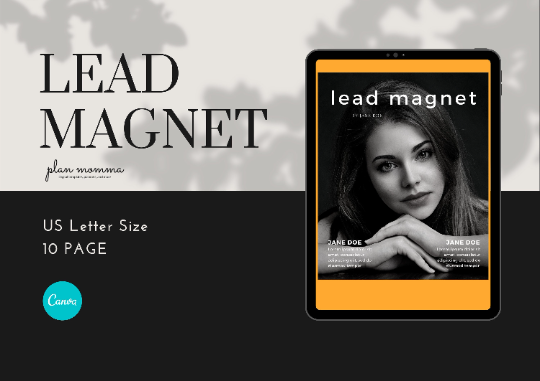 Lead Magnet Templates - Marketing for Bloggers, Opt-in Freebie Template, Bloggers Workbook , Lead Magnet eBook, Course Workbook Template