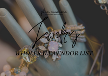 Load image into Gallery viewer, Wholesale Jewelry vendor list - 15 vendors
