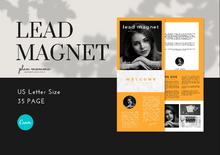 Load image into Gallery viewer, Lead Magnet Bundle 35 Templates - Canva Lead Magnet Templates, Lead Magnet, Lead Magnet for Coaches, Opt-in Freebie Template, eBook Design