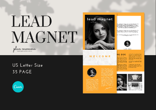 Lead Magnet Bundle 35 Templates - Canva Lead Magnet Templates, Lead Magnet, Lead Magnet for Coaches, Opt-in Freebie Template, eBook Design