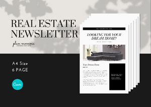 Real Estate Email Templates for Mailchimp - Editable Realtor Newsletter | Real Estate Marketing | Realtor Branding | Email Newsletter