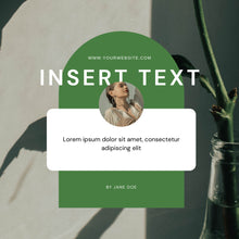 Load image into Gallery viewer, Social Media Marketing Templates for Instagram Booster - Social Media Templates, Instagram Templates for Canva, Editable Instagram Templates