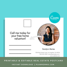 Load image into Gallery viewer, Download realtor - Instant Download | Postcards realtor, real estate template, agent printable, seller agent template, agent postcard