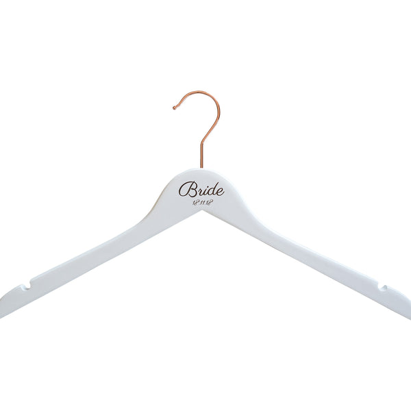 Personalised Hanger with Rose Gold Hook
