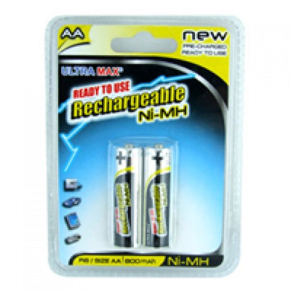 BATTERIES RECHARGEABLE AA 2PK