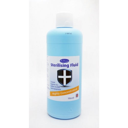 Dr Johnson Sterilising Fluid 1 Litre