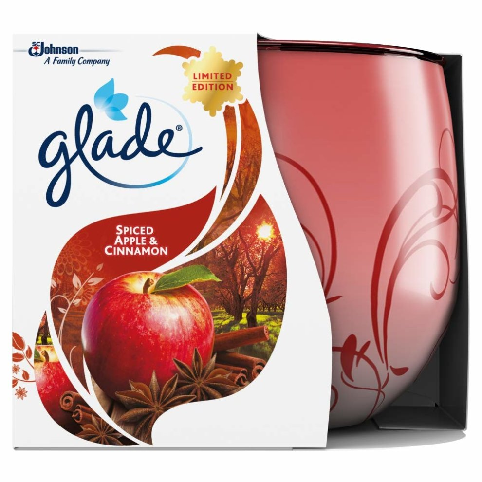 Glade Spiced Apple & Cinamon Candle