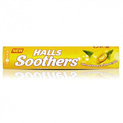 Halls Soothers Honey Lemon