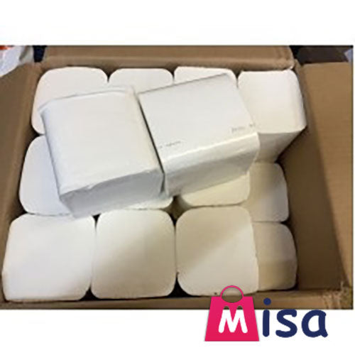 Bulk Pack Tissue Multi Flat Pack 144 x 250 sheet 36000 Sheets 2ply Toilet 4 cases