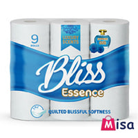 45 Bliss Essence Toilet Rolls 3Ply Fragranced Scented Bathroom Tissue Sapphire Oud