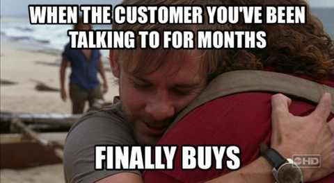 sales motivation meme