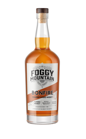 Load image into Gallery viewer, Foggy Mt. Bonfire Cinnamon Flavored Whiskey