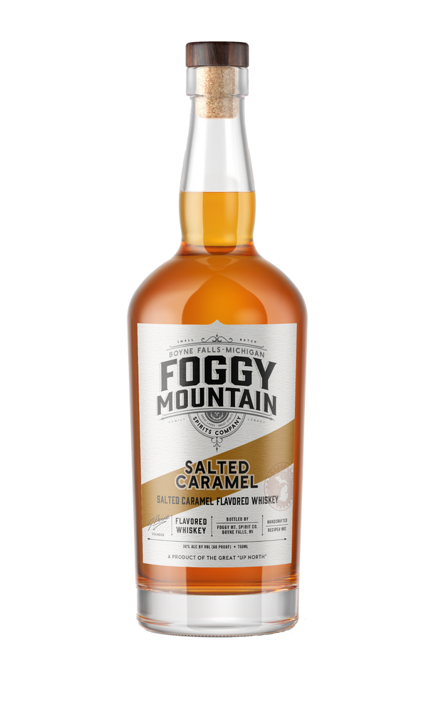 Foggy Mt. Salted Caramel Flavored Whiskey