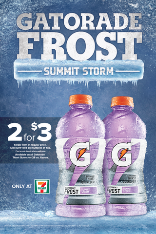 7-11 Gatorade Summit Strom