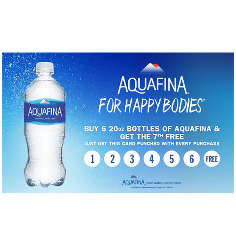 Aquafina Comeback Card