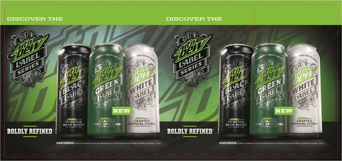 Dew Label Barrel Wrap (2017)