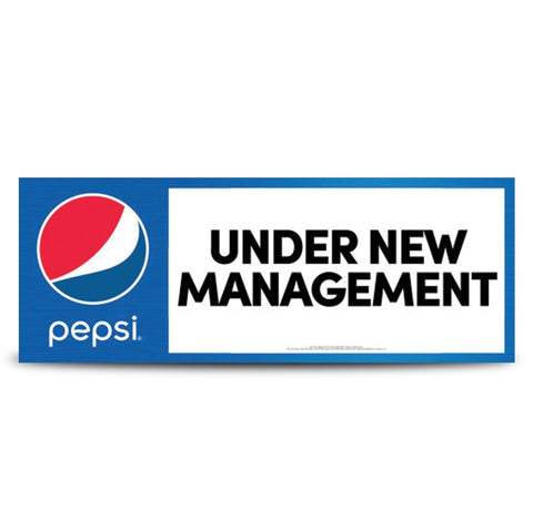 (PEPSI) New Management Banner