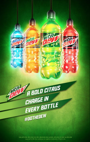Dew - Bold Citrus Charge
