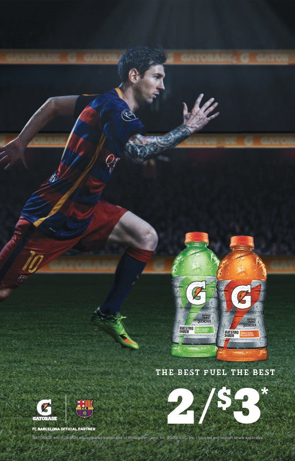 Gatorade Messi