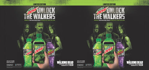 DEW - Walking Dead Barrel Wrap (2017)