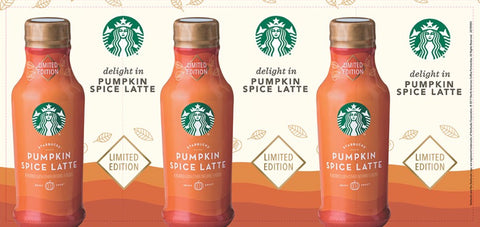 Starbucks Pumpkin Spice Latte -  Barrel Wrap (2017)