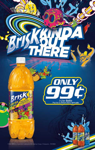 Brisk Pineapple Passionfruit