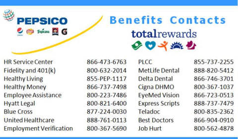 Benefits Contact Card