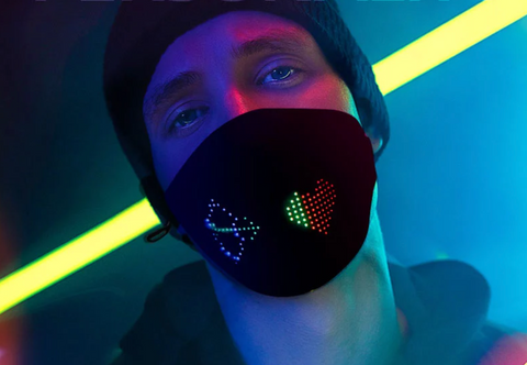 Image of LED Light-up Mask