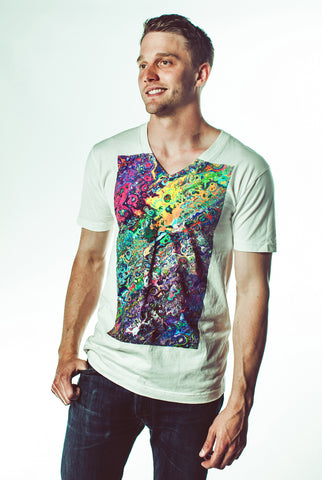 Image of Abstract Art V-neck