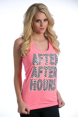 """After After Hours"" Tank - Pink"