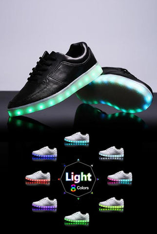 Image of Light up Shoes - Black