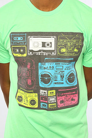 Image of Boom Box - Green