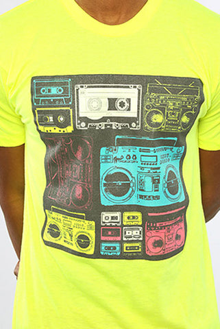 Image of Boom Box - Yellow