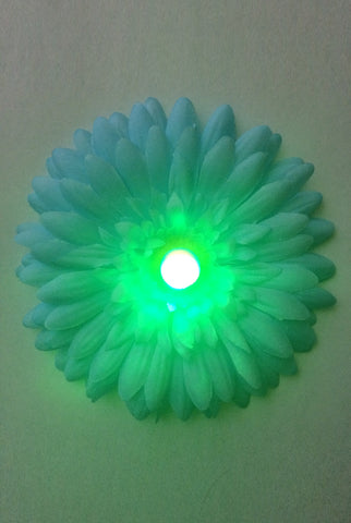LED Light-up Daisy Pasties - Green