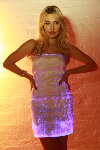 Fiber Optic Cocktail Dress