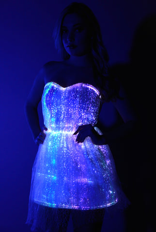 Fiber Optic Princess Dress