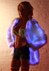 Glow Fur LED Coat