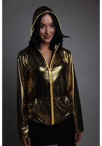 Light-up Disco Hoodie Gold