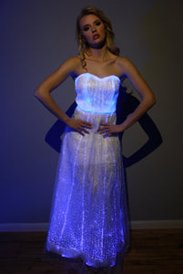 Fiber Optic Gown Dress