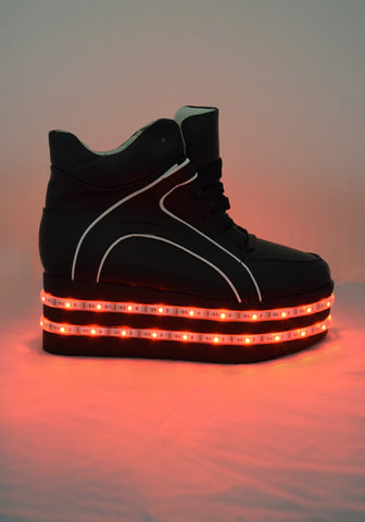 Light-up LED Platform Shoes