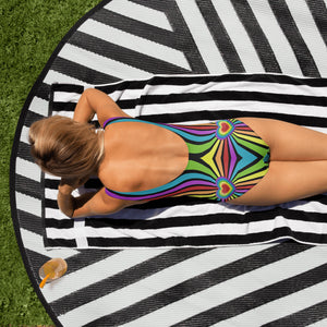 Rainbow Love Explosion One-Piece Bodysuit
