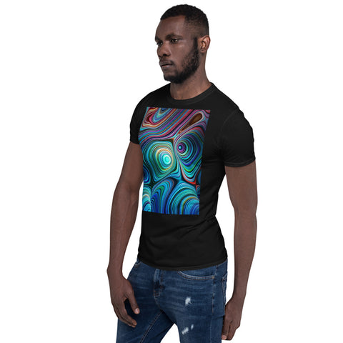 Image of Abstract Art Short-Sleeve Unisex T-Shirt
