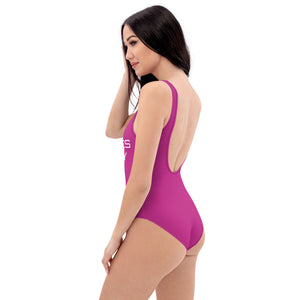 """Bass Makes Me Horny"" One-Piece Swimsuit"