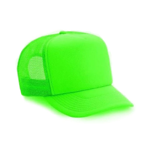 Neon Trucker Hat - Green