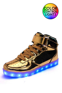 Light-up Midtops Gold